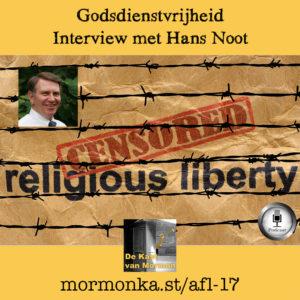 Godsdienstvrijheid: interview met Hans Noot